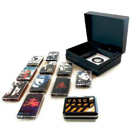 Vasco Rossi Tape Box