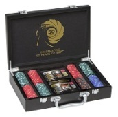 007 50esimo anniversario POKER SET LUXURY