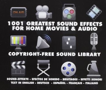 1001 sound effects..