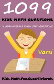 1099 Kids Math Questions: Quadrilaterals Flash Card Questions