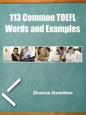 113 Common TOEFL Words and Examples