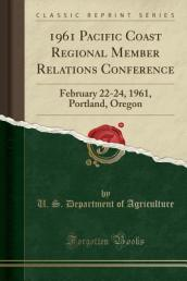 1961 Pacific Coast Regional Member Relations Conference
