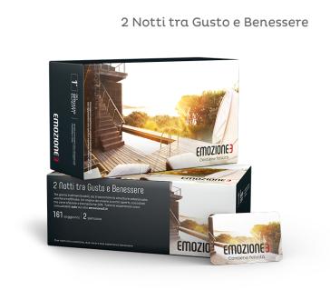 2 notti tra gusto e benessere cofanetto regalo for Emozione3 soggiorno con spa e relax