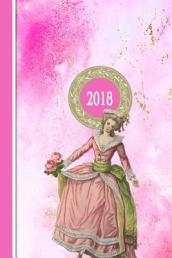 2018 Diary Pink Dancing Lady