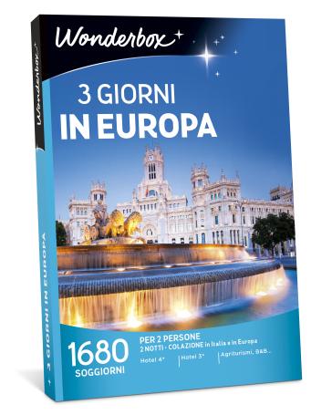 3 giorni in europa cofanetto regalo mondadori store for Regalo libri gratis
