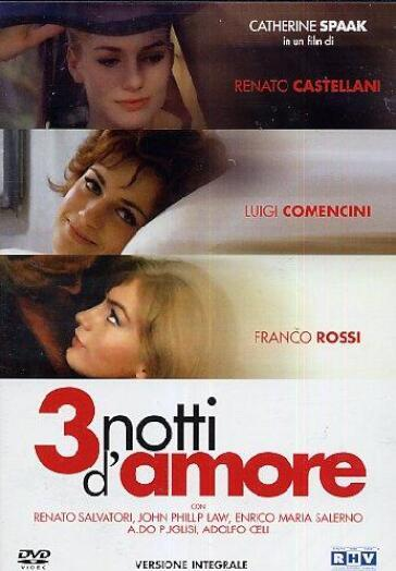 3 notti d'amore (DVD)