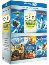 3D family collection (9 Blu-Ray)(3D+2D)