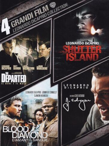 4 grandi film - Leonardo di Caprio collection (4 DVD)