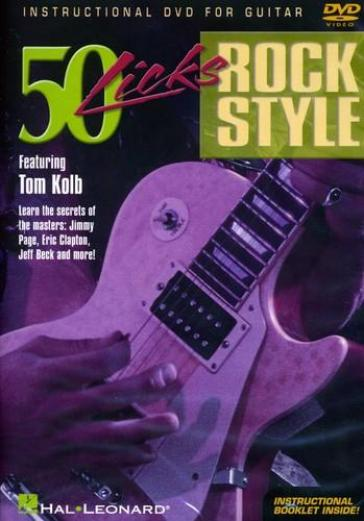 50 guitar licks rock styl