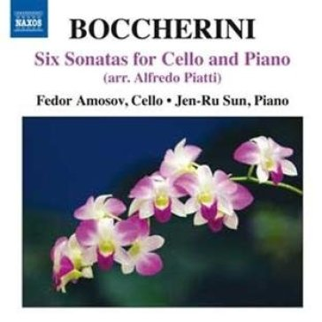 6 sonatas for cello & pia