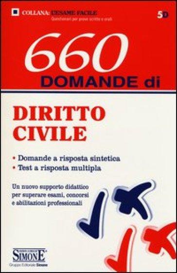 660 domande di diritto civile