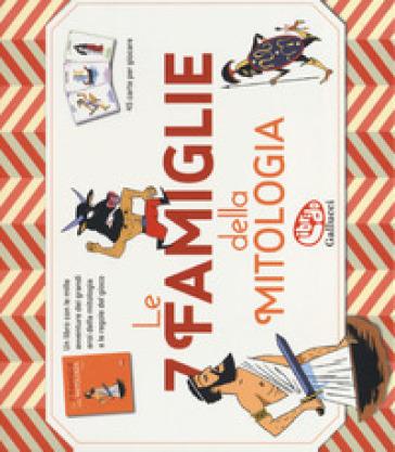 Le 7 famiglie della mitologia. Ediz. a colori. Con gadget - Martine Laffon | Jonathanterrington.com