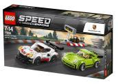 75888 Speed Champions Porsche 911 RSR and 911 Turbo 3.0