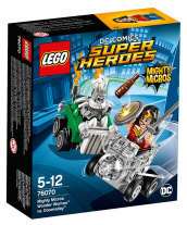 76070 - Super Heroes - Mighty Micros: Wonder Woman contro Doomsday