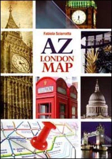 A Z. London map - Fabiola Sciaratta   Kritjur.org