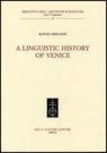 A linguistic history oh Venice