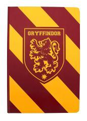 A5 Notebook - Harry Potter (Gryffindor Stripe)