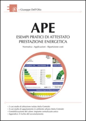 APE esempi pratici di attestato prestazione energetica - Giuseppe Dell'Olio | Thecosgala.com