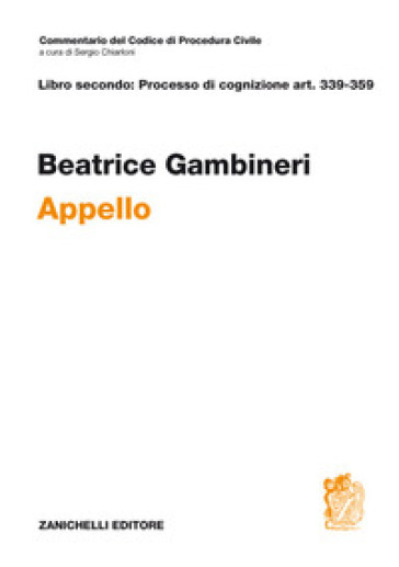 ART. 339-359. Appello - Beatrice Gambineri |