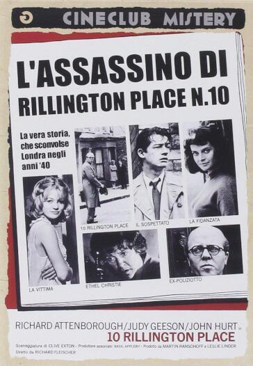 L'ASSASSINO DI RILLINGTON PLACE N.10 (DVD)