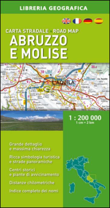 Abruzzo, Molise 1:200.000