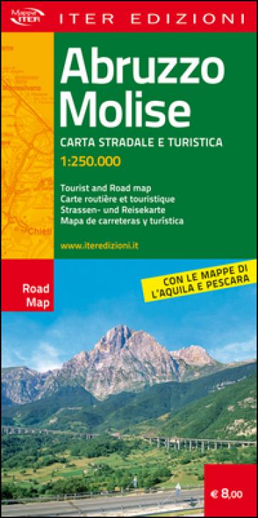 Abruzzo e Molise. Carte stradale e turistica 1:250.000. Ediz. multilingue