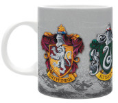 Abymug285 - Harry Potter - Tazza 320Ml - The 4 Houses Box