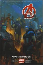 Adattati o muori. Avengers. 5. - Fields:anno pubblicazione:2016;autore:;editore:Panini Comics