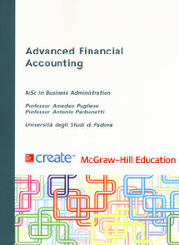 Advanced financial accounting - Antonio Parbonetti |