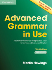 Advanced grammar in use. Book. With answers. Per le Scuole superiori. Con espansione online