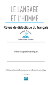 Affects et acquisition des langues