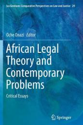 African Legal Theory and Contemporary Problems
