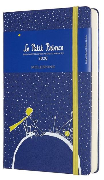 Agenda 12M giornaliera 2020 - copertina rigida - Large - Limited Edition Petit Prince Planet