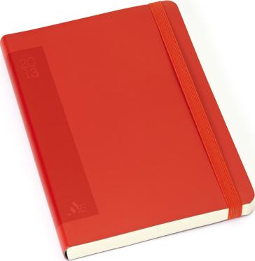 Agenda giornaliera grande brossura colore rosso idee for Regalo libri gratis