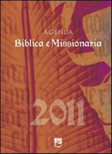 Agenda biblica missionaria 2011
