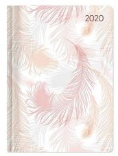 Agenda giornaliera 2020 - Style Pastel Feathers