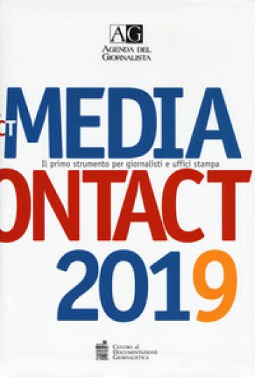 Agenda del giornalista 2019. Media contact