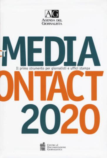 Agenda del giornalista 2020. Media contact