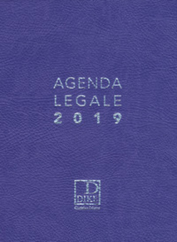 Agenda legale d'udienza 2019. Ediz. viola