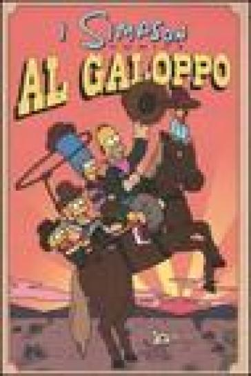 Al galoppo. Simpson comics