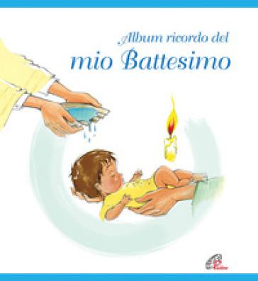 Album ricordo del mio battesimo. Azzurro - Diesse |