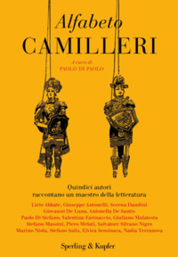 Alfabeto Camilleri - P. Di Paolo | Jonathanterrington.com