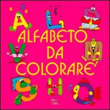 Alfabeto da colorare libro mondadori store - Cartone animato giraffa da colorare pagine da colorare ...