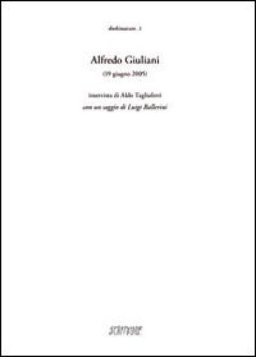 Alfredo Giuliani (19 giugno 2005) - E. Gazzola |