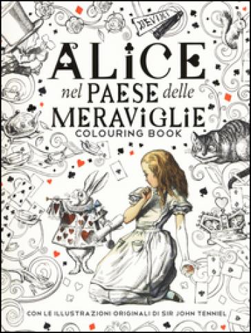 Alice Nel Paese Delle Meraviglie Colouring Book Lewis Carroll