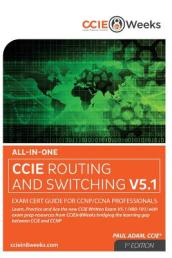 All-In-One CCIE 400-101 V5.1 Routing and Switching Written Exam Cert Guide for CCNP/CCNA Professionals