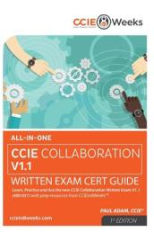 All-In-One CCIE Collaboration V1.1 400-051 Written Exam Cert Guide