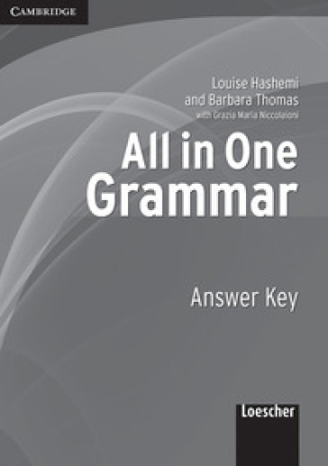 All in one. Grammar. Answer key. Per le Scuole superiori