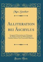 Alliteration Bei Aschylus