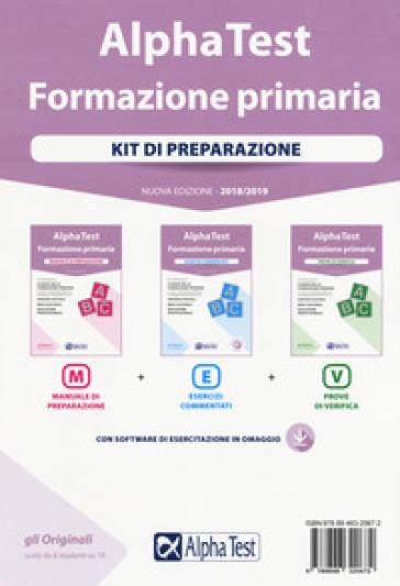 Alpha Test. Formazione primaria. Kit di preparazione. Con Contenuto digitale per download e accesso on line - Fausto Lanzoni |